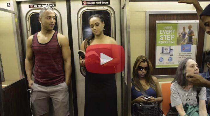Un normalissimo viaggio in metropolitana a new work si for Un re a new york