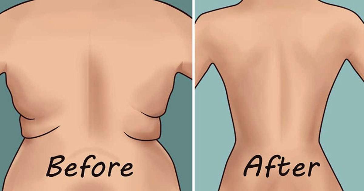 come perdere grasso dalle braccia e dalla schiena