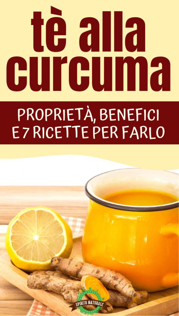 tè alla curcuma per perdere peso